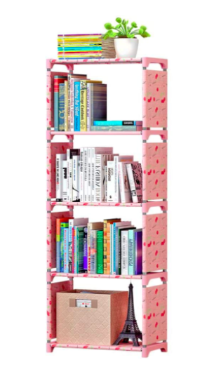 ارفف كتب Vertical Bookshelf Bookcase Bookshelf Storage