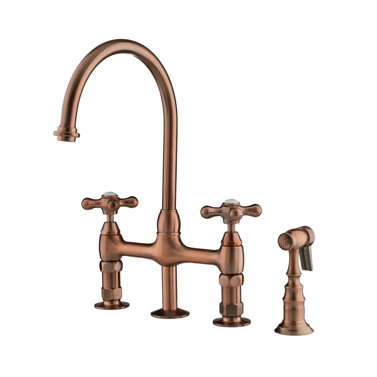 Gooseneck Bridge Style Kitchen Faucet In 2020 Kitchen Styling