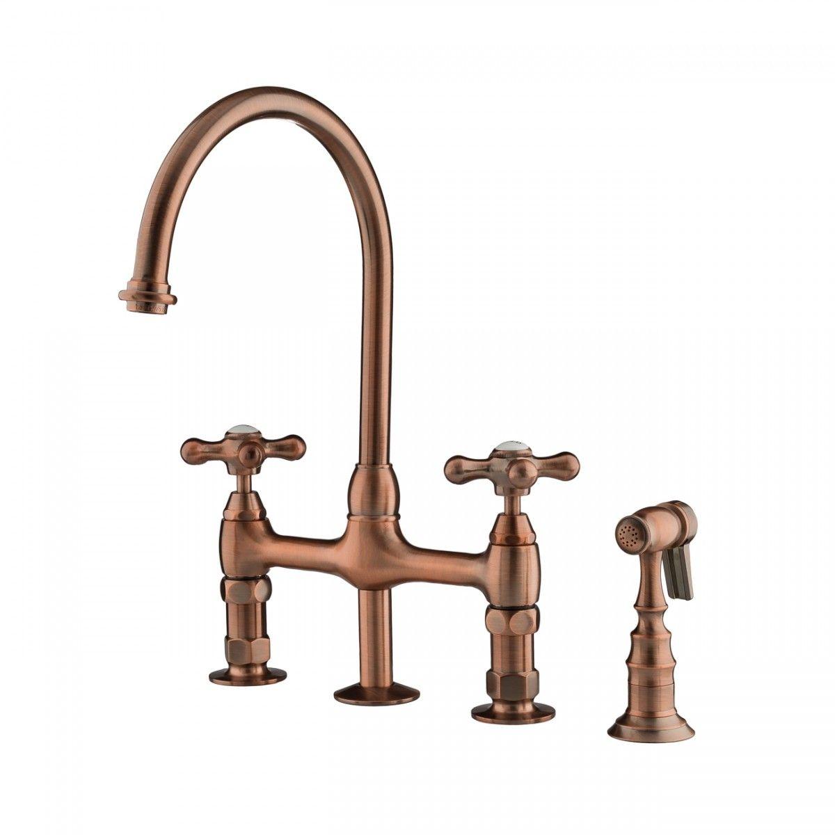 Gooseneck Bridge Style Kitchen Faucet Kitchen Styling Kitchen Faucet Design Faucet