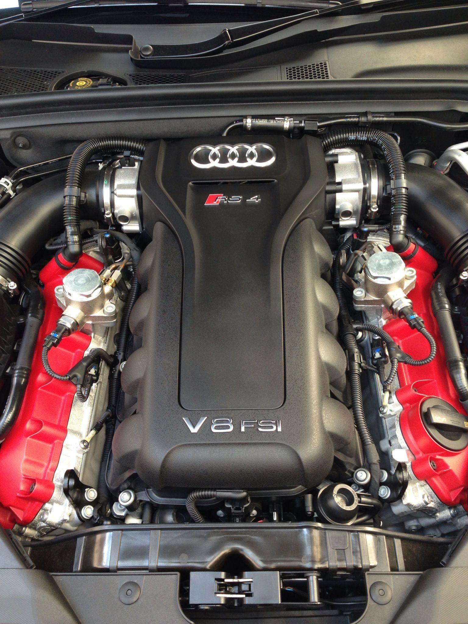 New Audi Rs4 4 2 V8 Engine Audi Motorsport Audi Rs4 Audi