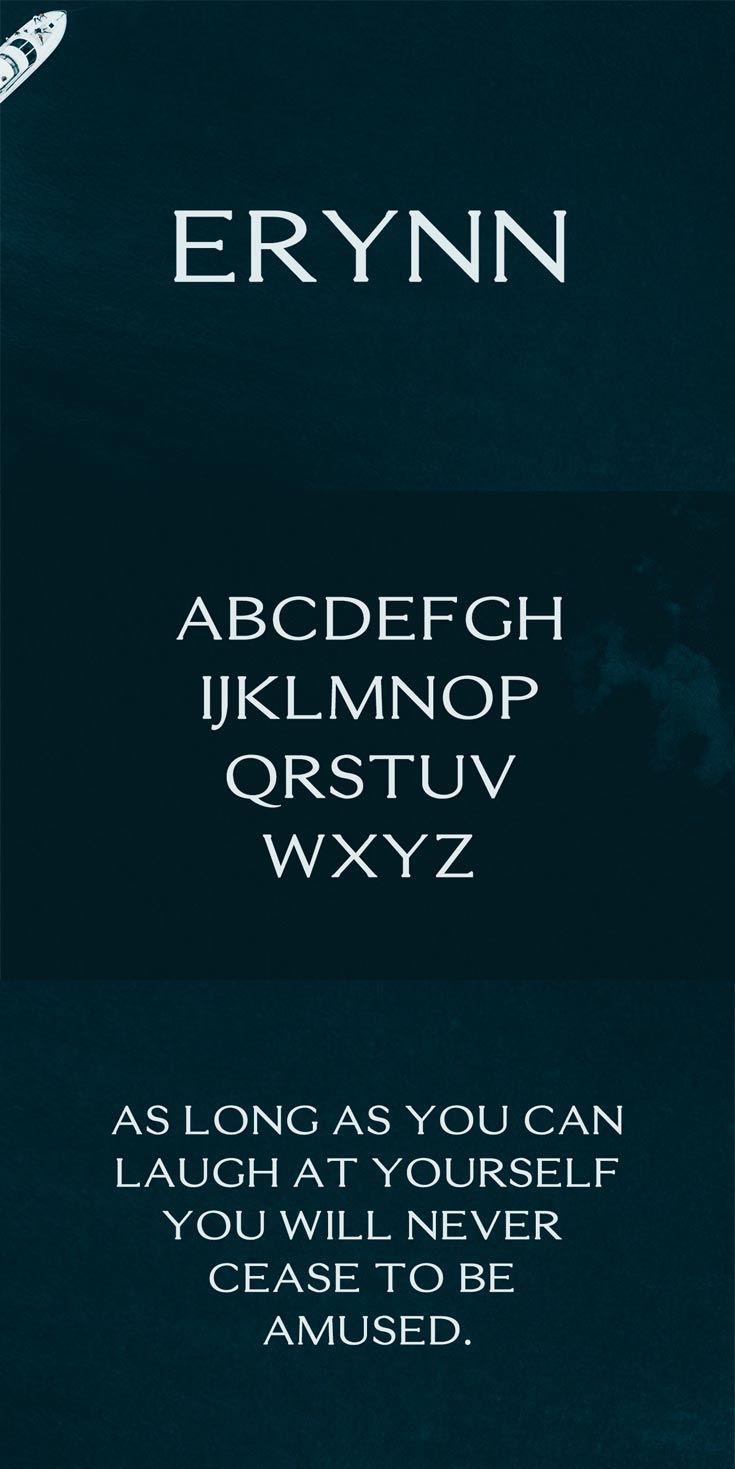 Free Erynn Serif Demo Font   Fonts, Serif and Typo