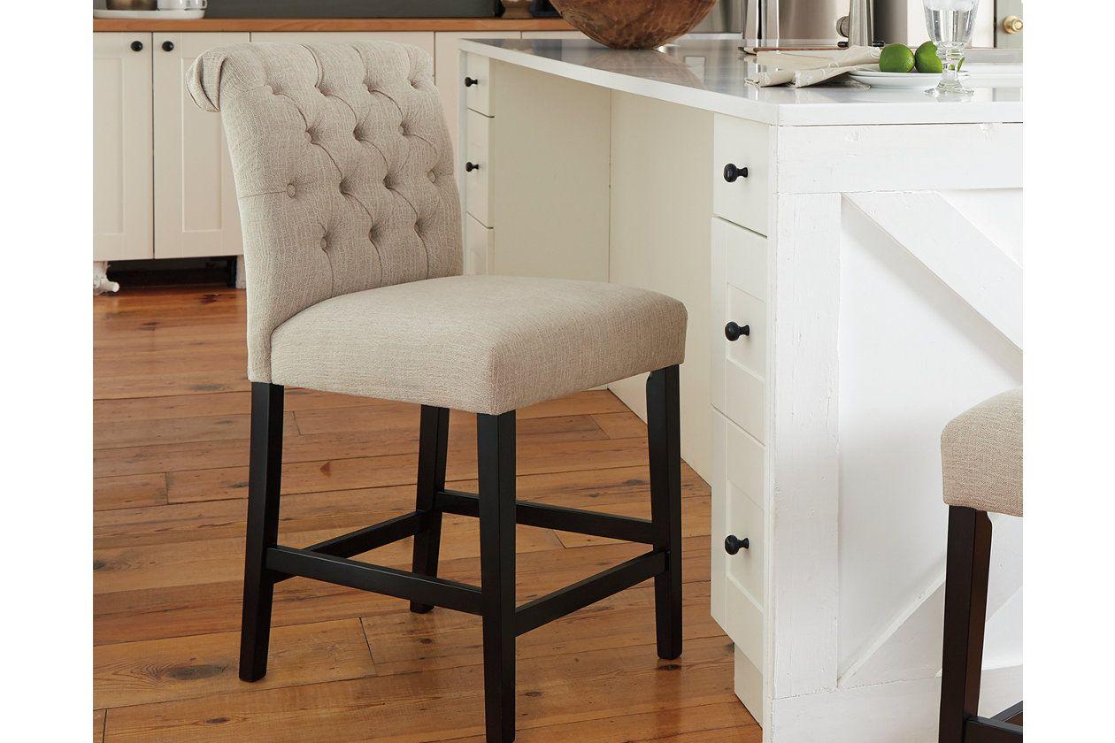 Tripton Counter Height Bar Stool Ashley Furniture Homestore Counter Height Bar Stools Bar Stools Counter Height Bar