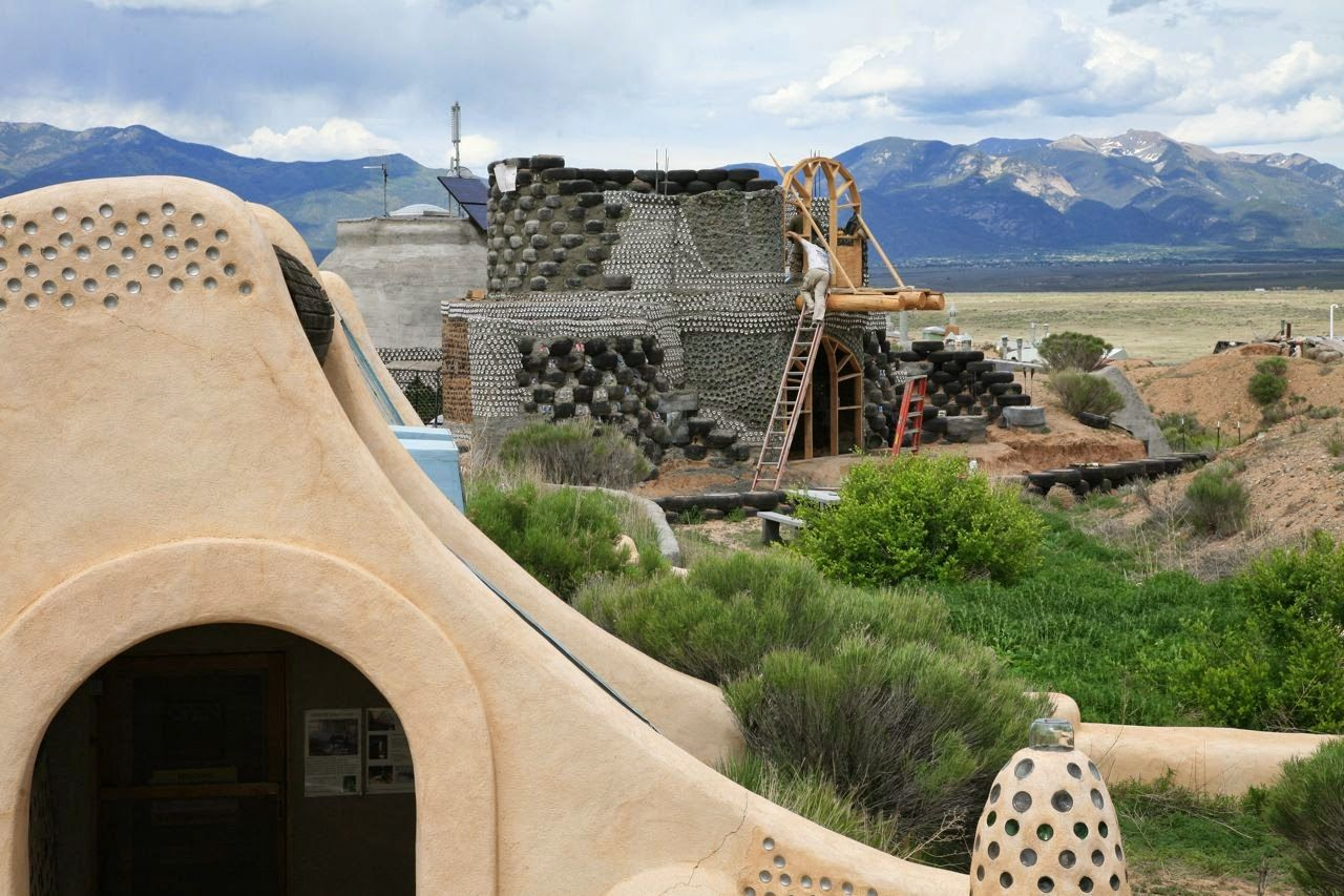 my destination yet set: Earthships