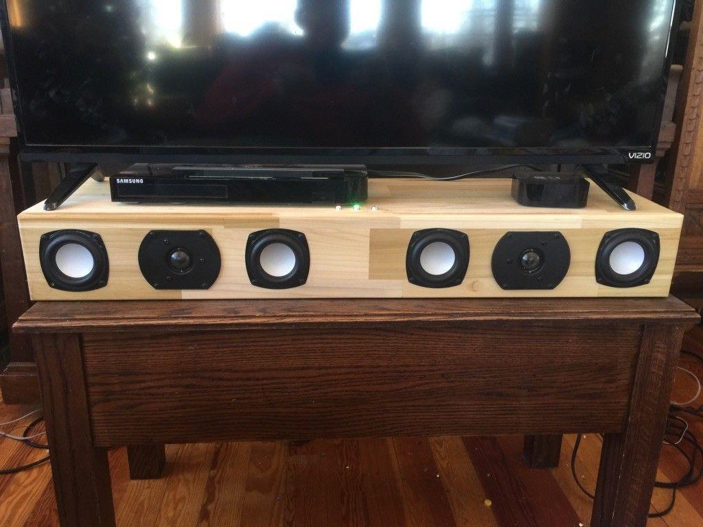 My First Project  McGregor Soundbar V1   Parts Express