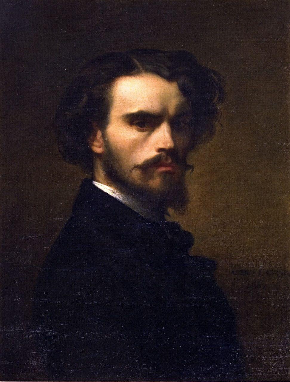 Alexandre Cabanel, Self Portrait, 1852