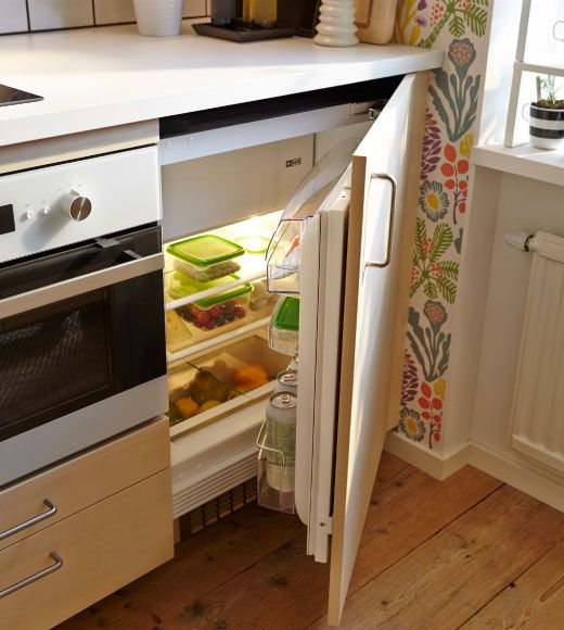 Fresh Home Furnishing Ideas And Affordable Furniture Ikea Kuche Kuche Eingebauter Kuhlschrank