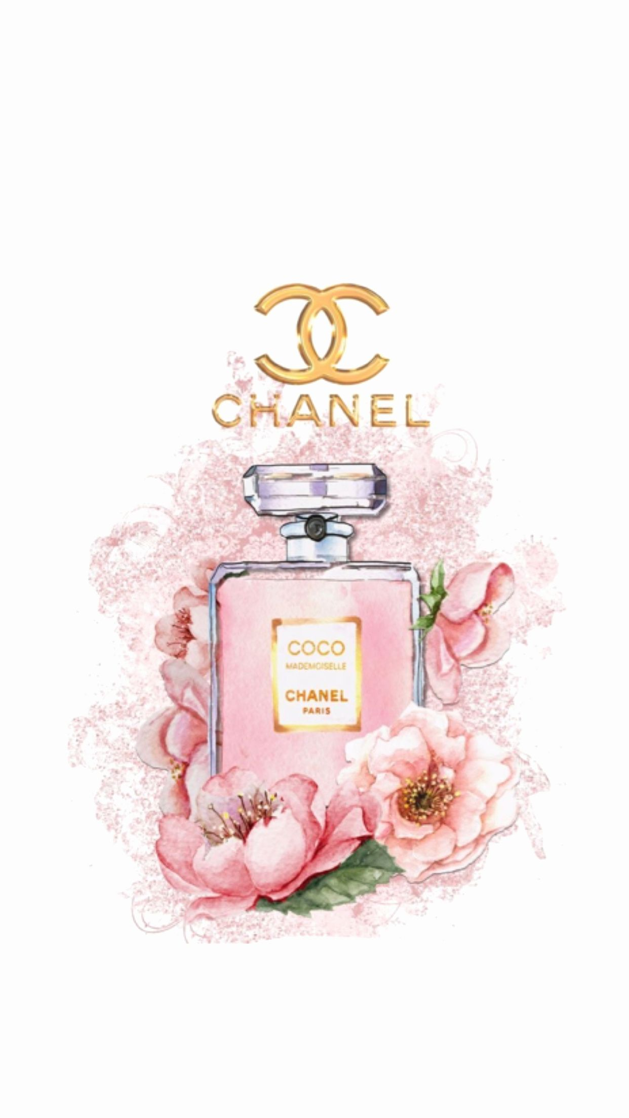 Wallpaper Channel Group Pictures 43 Chanel Wallpapers Pink Wallpaper Iphone Chanel Wall Art