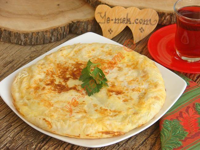 Peynirli Tava Böreği Resimli Tarifi - Yemek Tarifleri