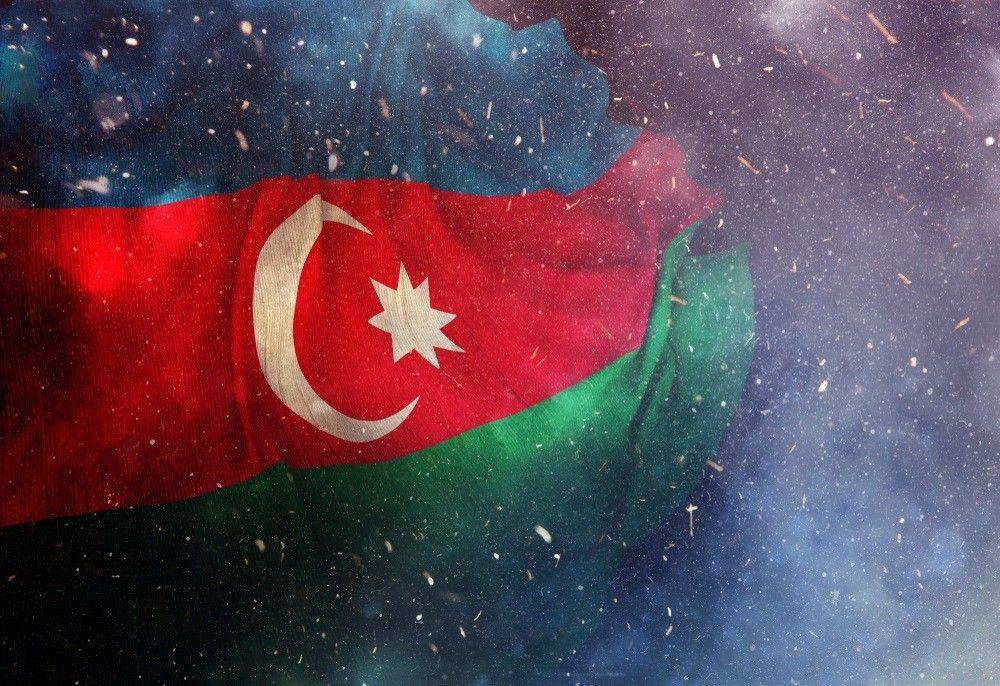 Azərbaycan Bayragi Ay Ulduzlu Uc Rəngli Bayragim Turkluk Muasirlik Islam Rəsulzadə Azərbaycan Xalq Cumhuriyyəti əli Bəy H Azerbaijan Flag Flag Wallpaper