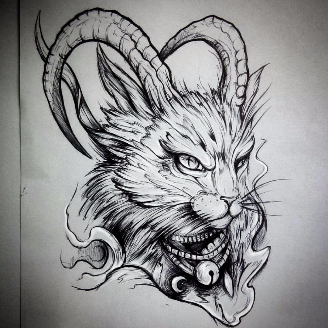 Pin by Aleksandra Kita on Тату Cat tattoo, Tattoo design
