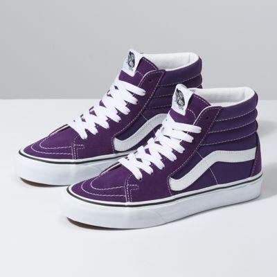 mens purple vans shoes