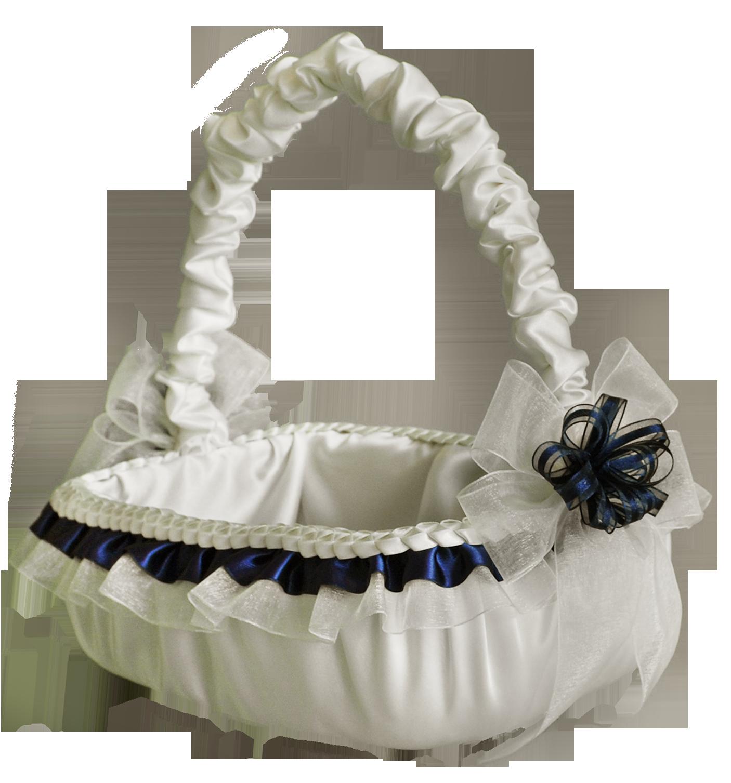 Wedding basket girl canasta para ni as floristas - Canastas de mimbre decoradas ...