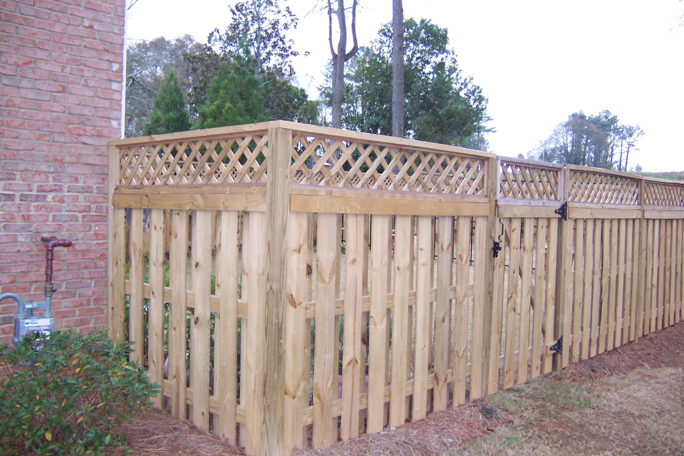 Atlanta fence7709639961 atlanta privacy fenceatlanta wood find this pin and more on fence privacy fence with lattice plans baanklon Choice Image