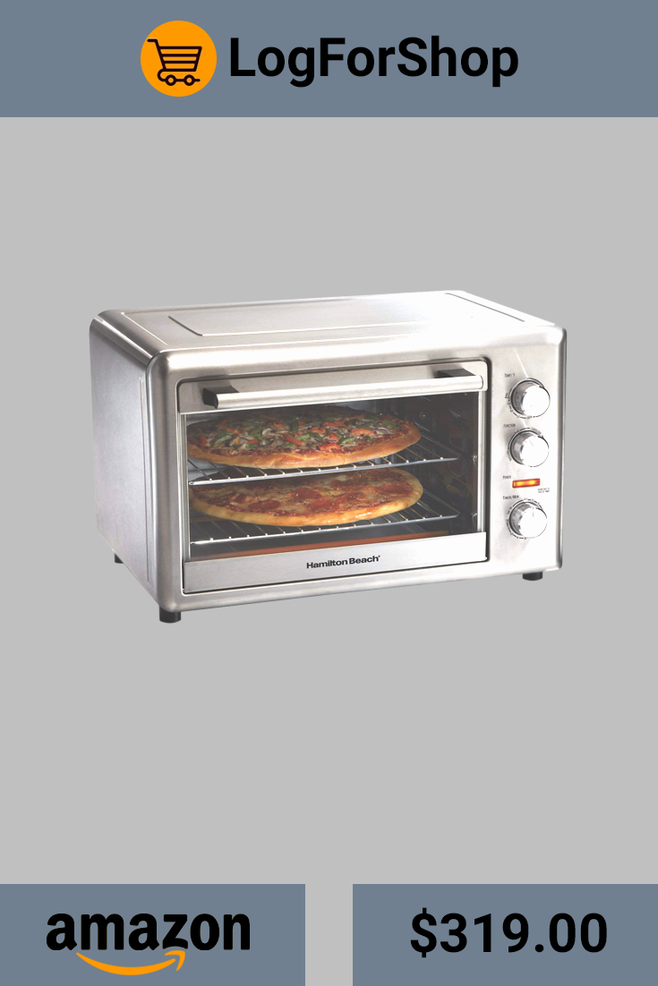 Hamilton Beach Countertop Oven With Convection Rotisserie 31103