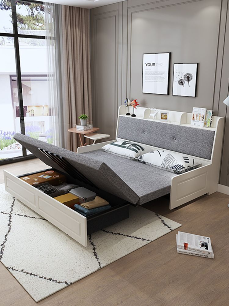 Bedroom Interior Small Sleeping Sofa Bed Furniture Bed Bedroom Furniture In 2020 Sofa Bed For Small Spaces Bedroom Interior Beds For Small Spaces