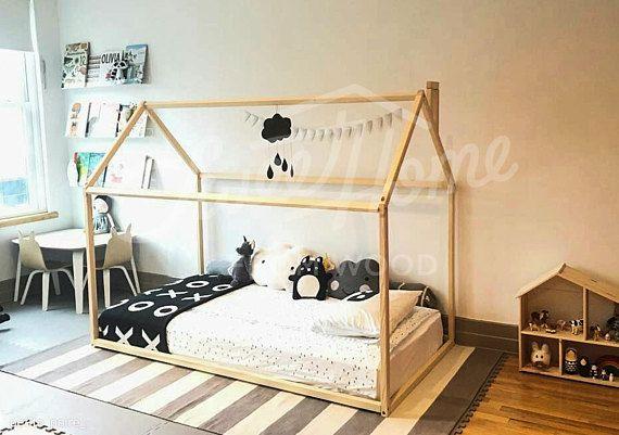 Toddler Bed Or House Bed With Slats Children Bed Frame Bed