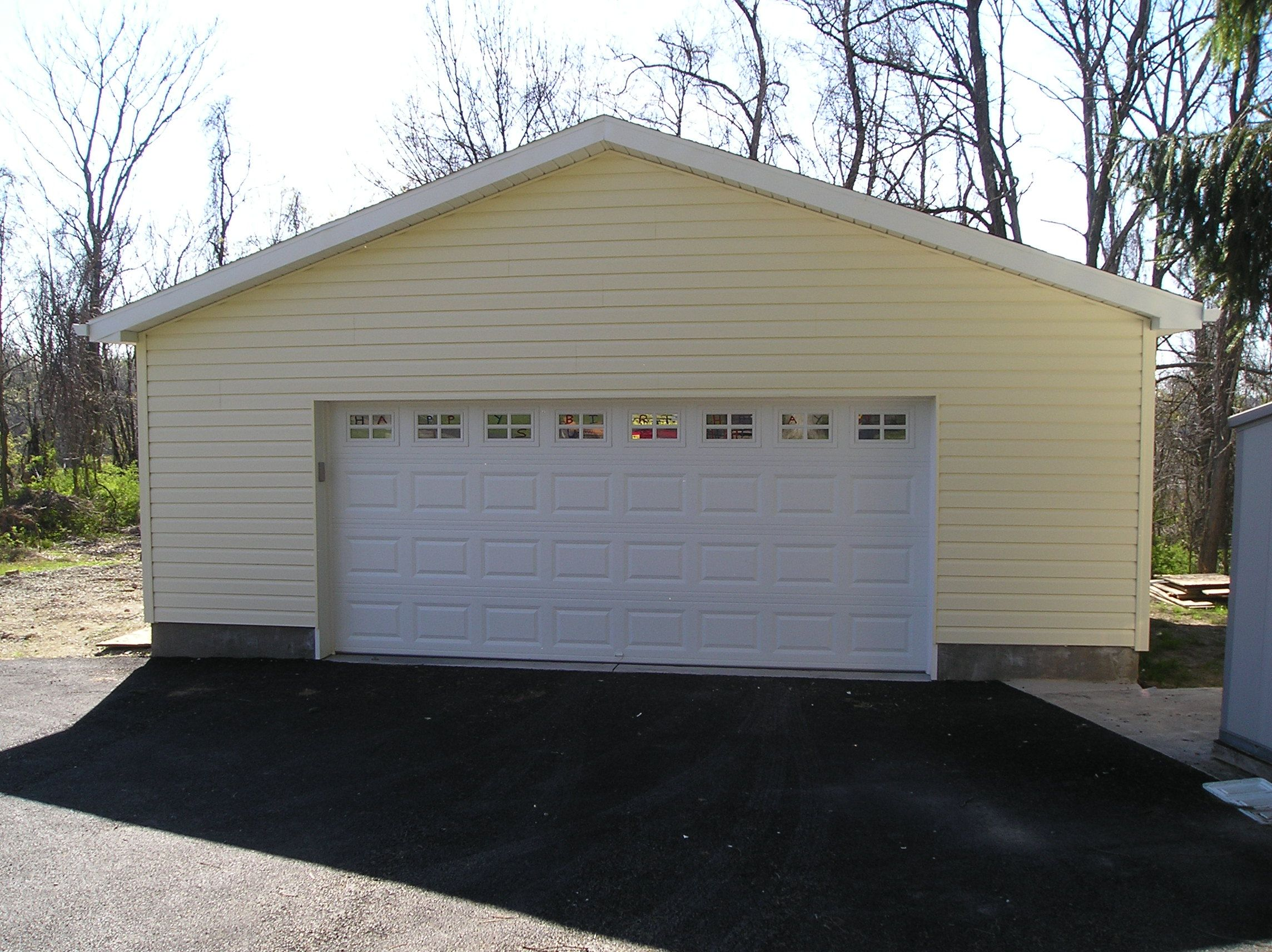 This Is A Chi Garage Door Model 2283 Installed By Thomas V Giel