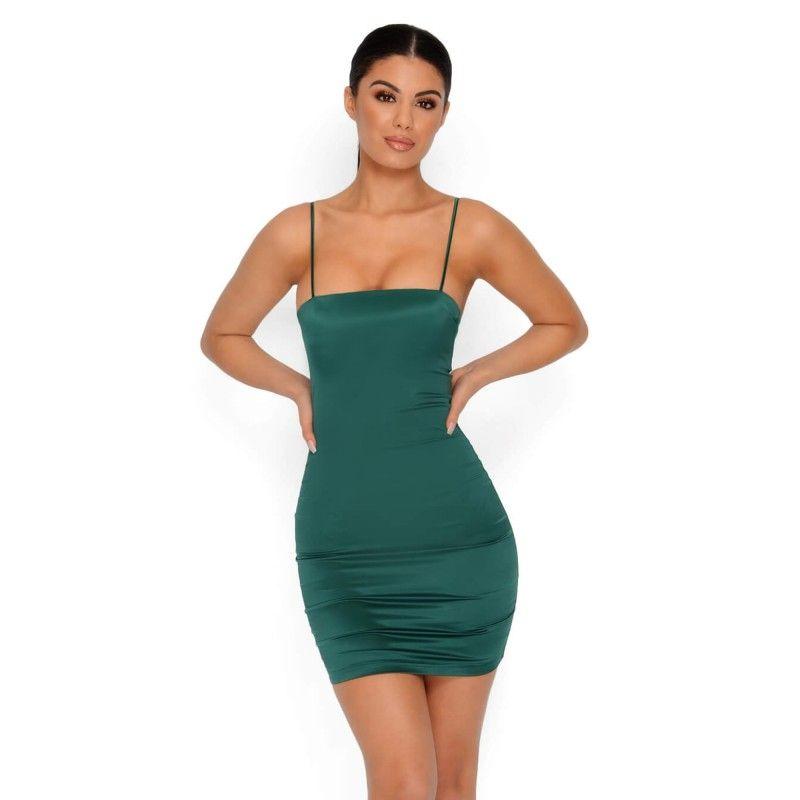 Short Spaghetti Strap Mini Dress