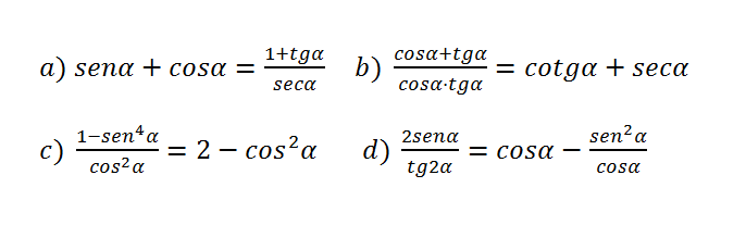 Identidades Trigonométricas Identidades Trigonometricas Ejercicios Resueltos Matematica Ejercicios