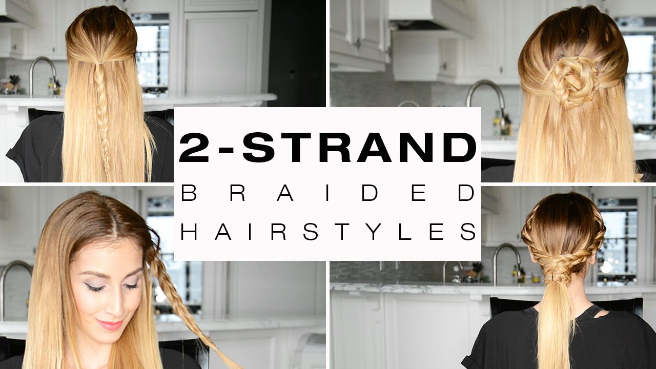 Quick u easy strand braided hairstyles for everyday youtu