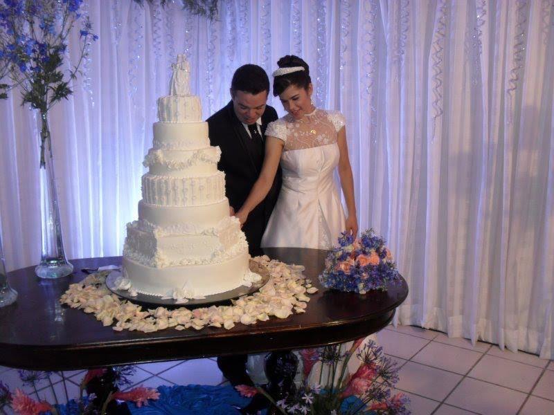 Meu bolo de Casamento