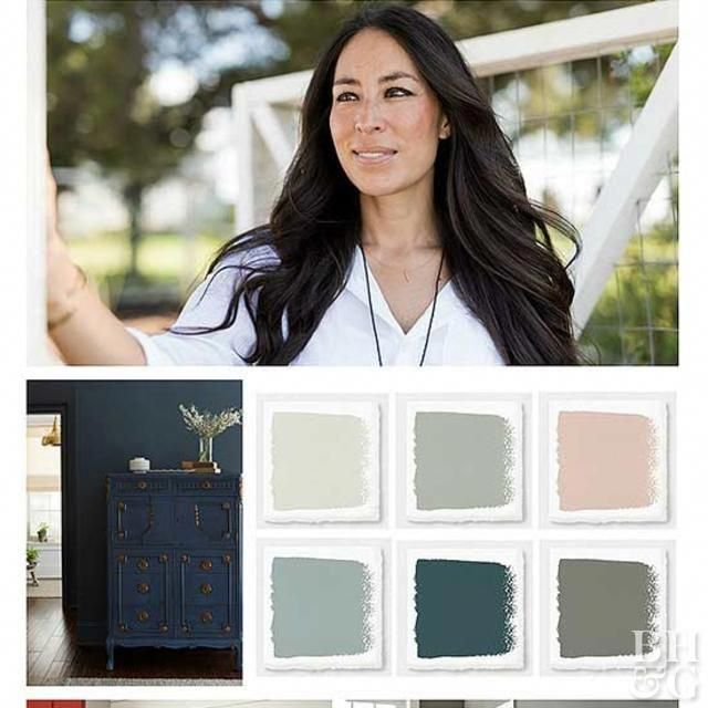 Joanna Gaines 2018 Paint Color Picks: Joanna Gaines Color Predictions For 2018