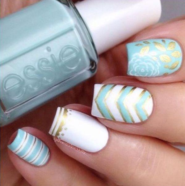 uñas acrilicas diseño 2016 | Nail Art. | Pinterest | Manicuras ...