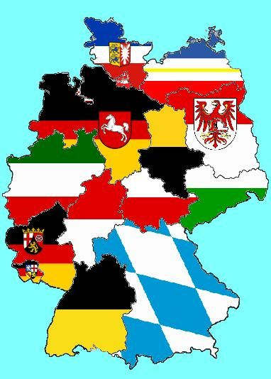 This Fun Picture Of Germany Shows The Different German States By