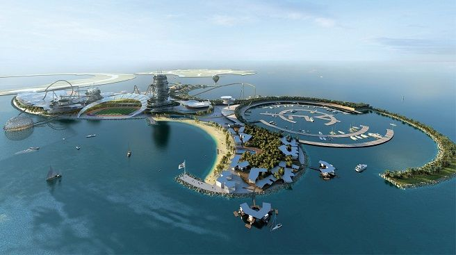"""Se presenta el """"Real Madrid Resort Island"""", un complejo turístico y parque temático en Emiratos Árabes"""