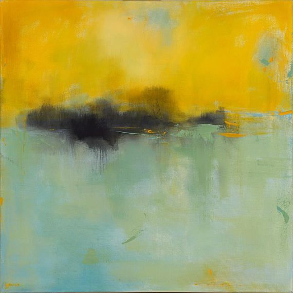 Minimalist Abstract Landscape Painting Large 36x36 Acrylic Painting Modern Art Original Painting In 2020 Abstract Landscape Abstract Landscape Painting Landscape Paintings