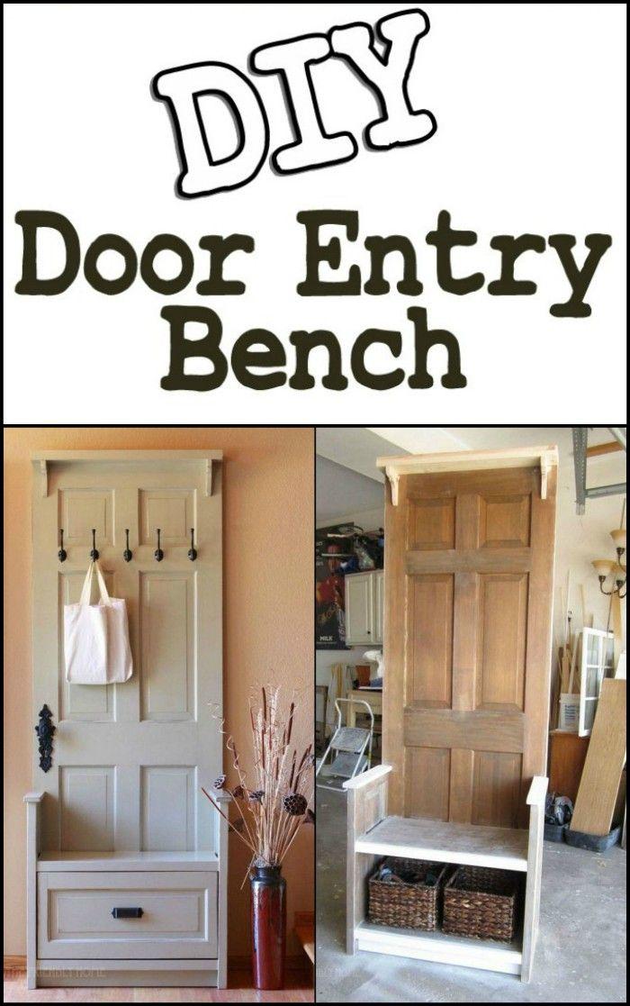 Photo of DIY Door Entry Bench