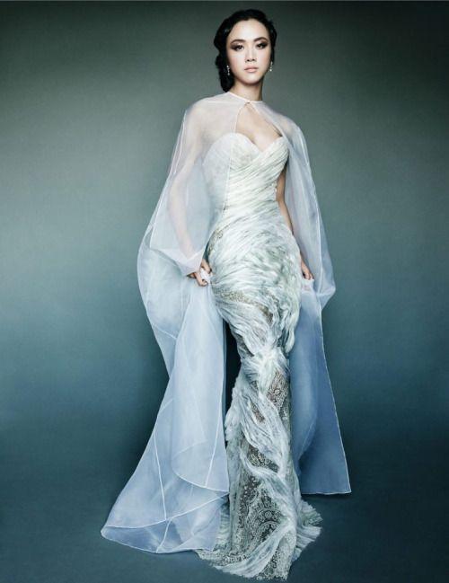 Vicki Zhao Vogue China September 2015 photos Mario Testino fashion ...