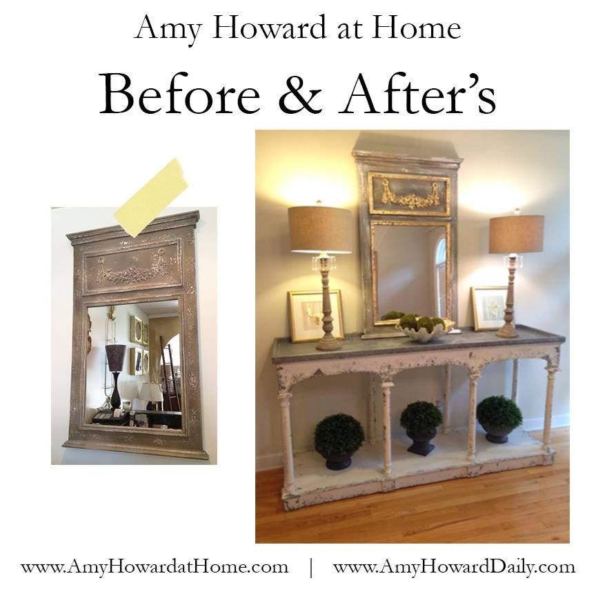 Before & After's on the blog! #diyproject #transformations #beforeandafter #amyhowardathome #onesteppaint