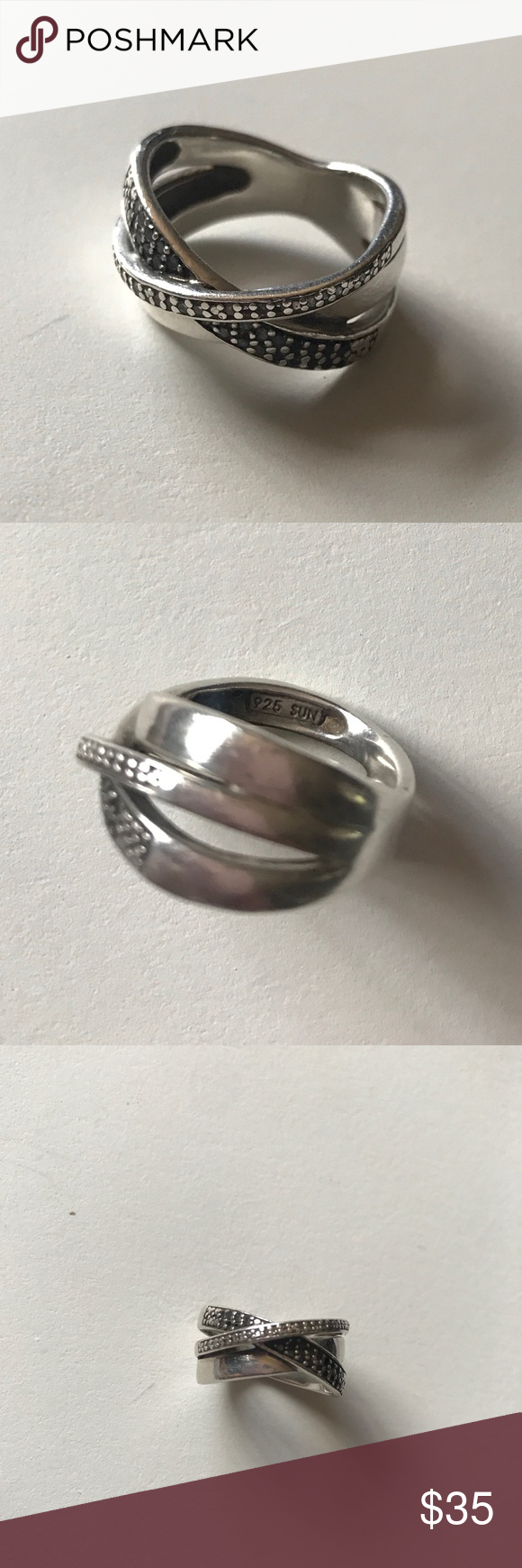 Kay Jewelers Ring 925 SUN Stamp From Jay About A Size 5 6 Jewelry Rings