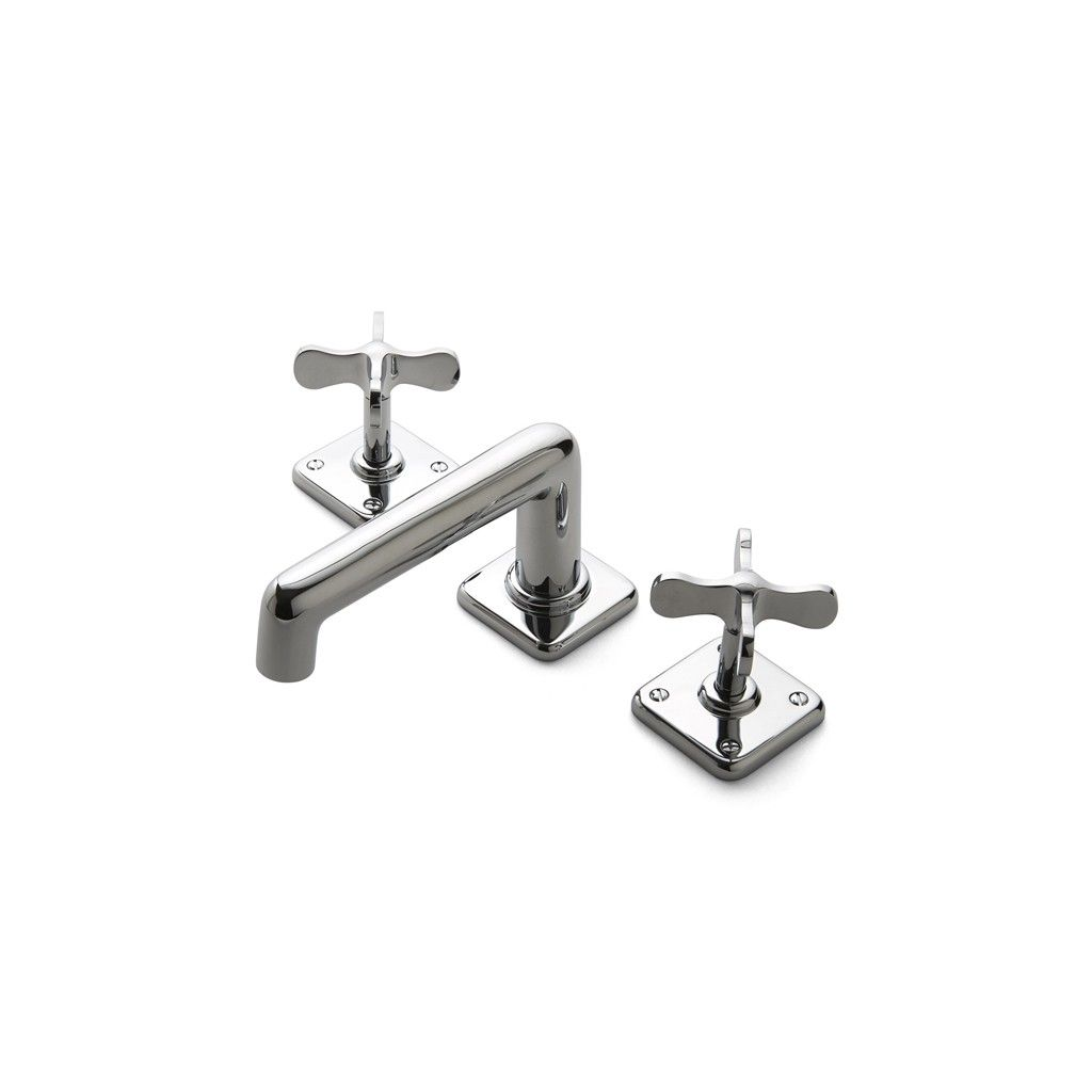 Ludlow Cross Handle Bathroom Faucet Fittings Faucets Faucets