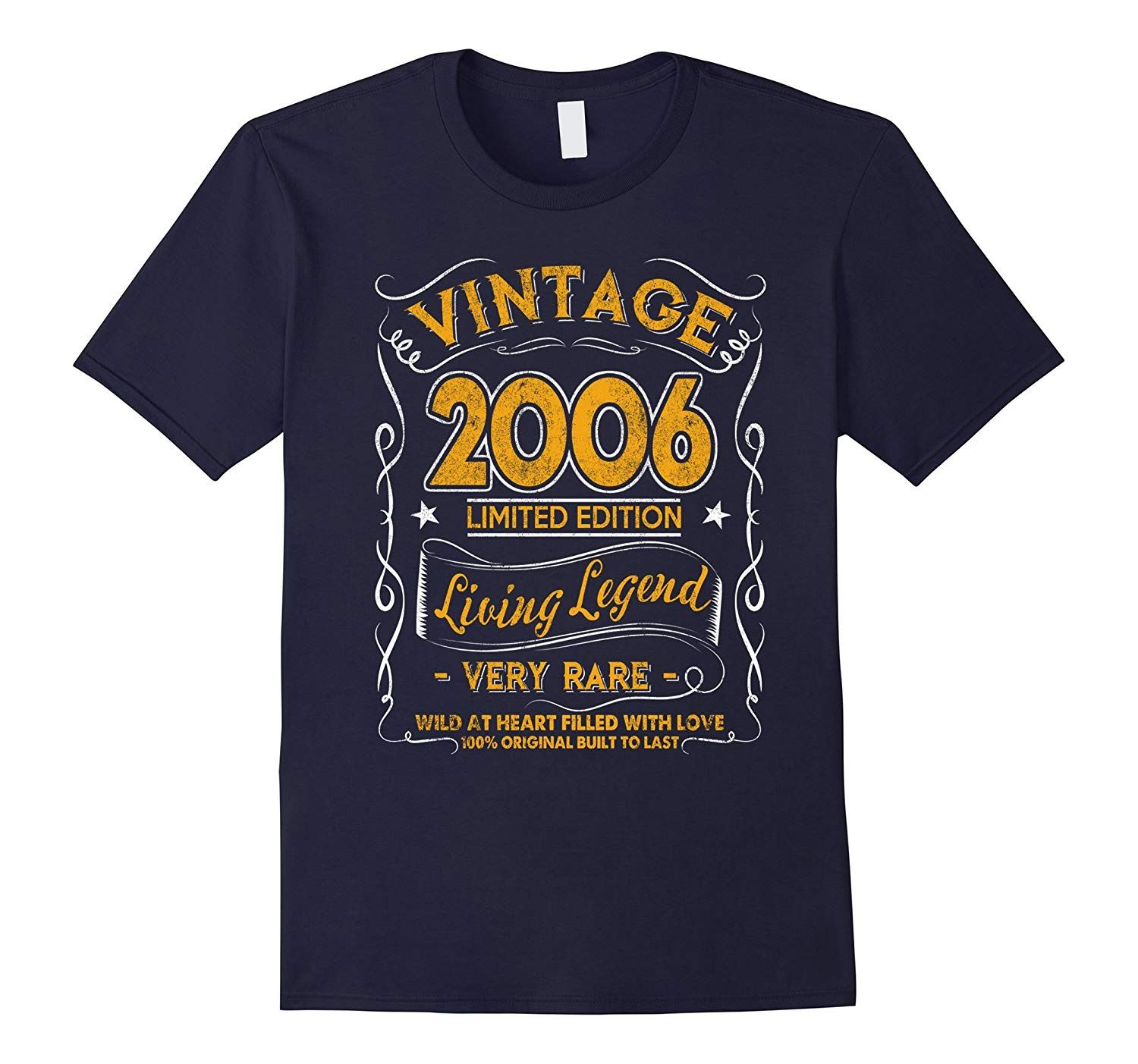 Vintage Born in 2006 11th Birthday TShirt 11 Years OldTH
