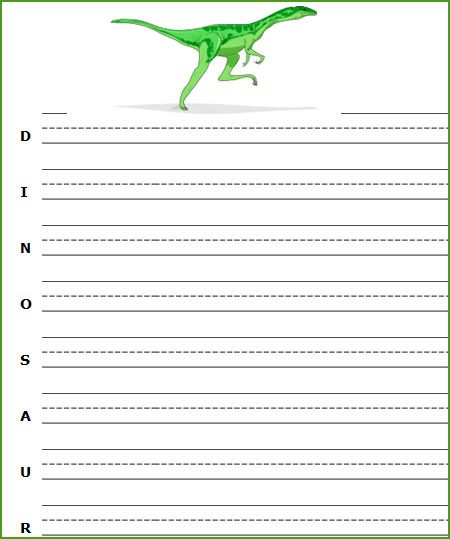 Incredible Free Printable Dinosaur Worksheets Dinosaurs Writing Worksheets Easy Diy Christmas Decorations Tissureus