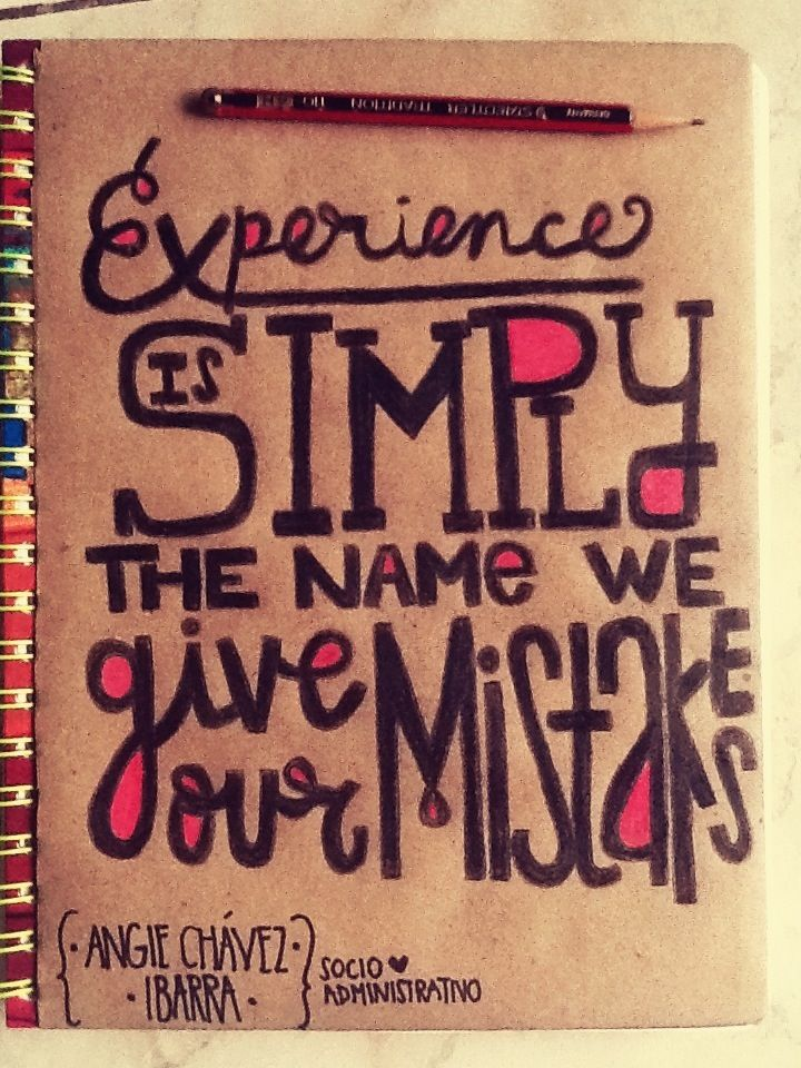 notebook #design #diy #text #quote #school | Words to live