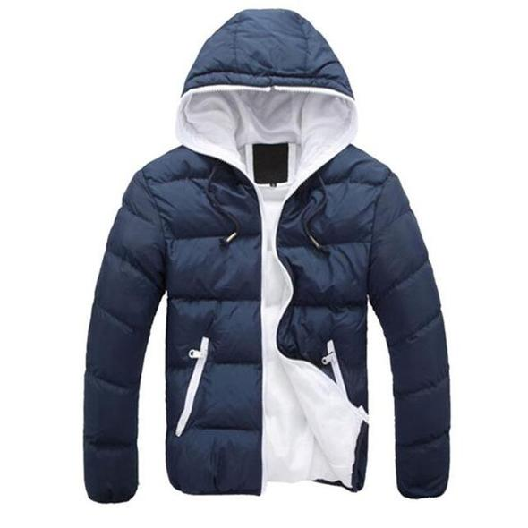 New men/'s winter Hooded cotton clothing coats casual jacket Coat outwear Tops
