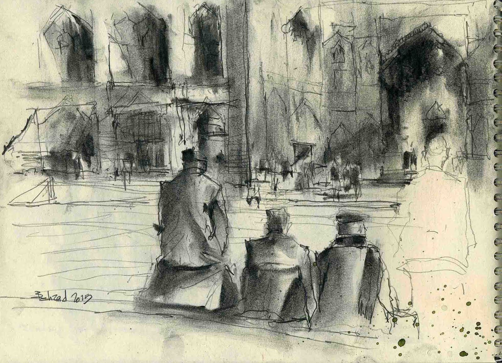 Urban sketchers old subjects new viewpoints 1
