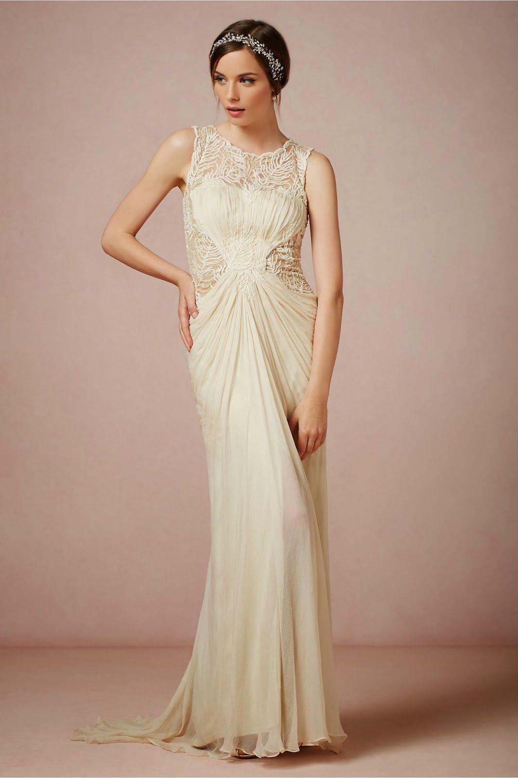 Vestidos novia sencillos vintage