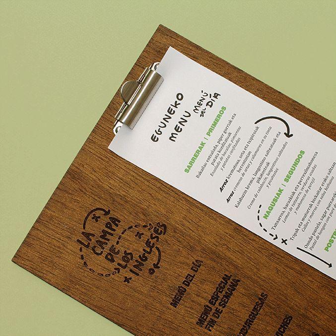 Cartas para restaurantes - Cartas exclusivas elegantes originales ...
