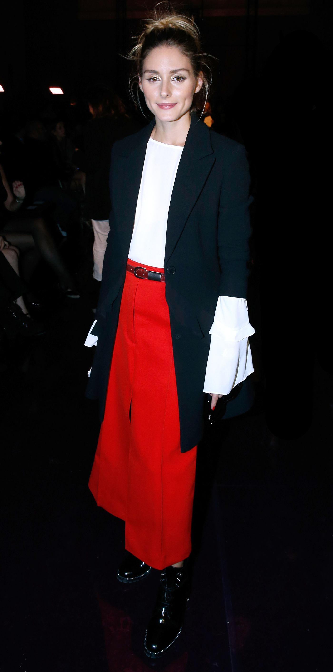 80c848fbd5 Olivia Palermo Owned Fashion Month—See 28 of Her Best Front Row-Ready Looks  - NINA RICCI from InStyle.com