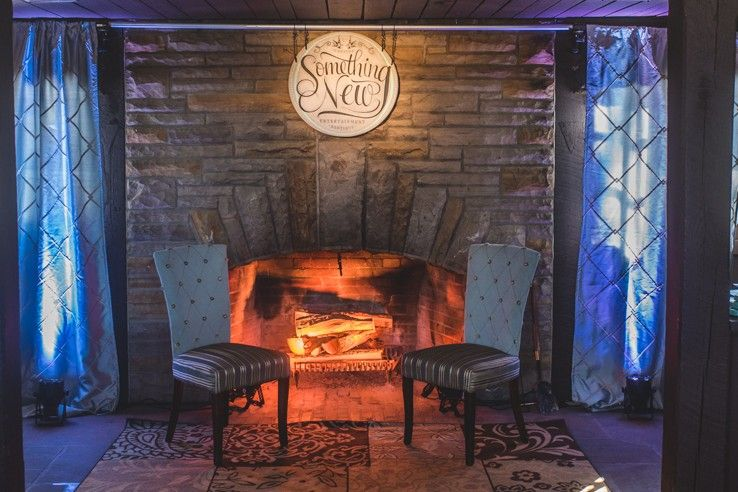 The Something New Entertainment Booth Complete with a Faux Fire. Lighting Design y Something & The Something New Entertainment Booth Complete with a Faux Fire ... azcodes.com