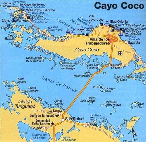 Cayos De Cuba Mapa.Location Of Cayo Coco In Cuba Map In 2019 Cayo Coco Cuba
