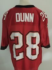 6e8e06a72 NFL TAMPA BAY BUCCANEERS American Football Shirt Jersey  28 DUNN Size MEDIUM