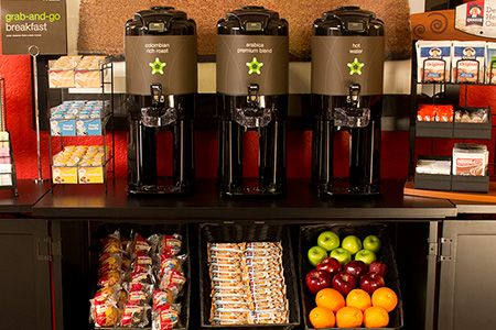 Enjoy our free grab-and-go breakfast at our Chicago - Midway location. // #Chicago #hotel ExtendedStayAmerica.com