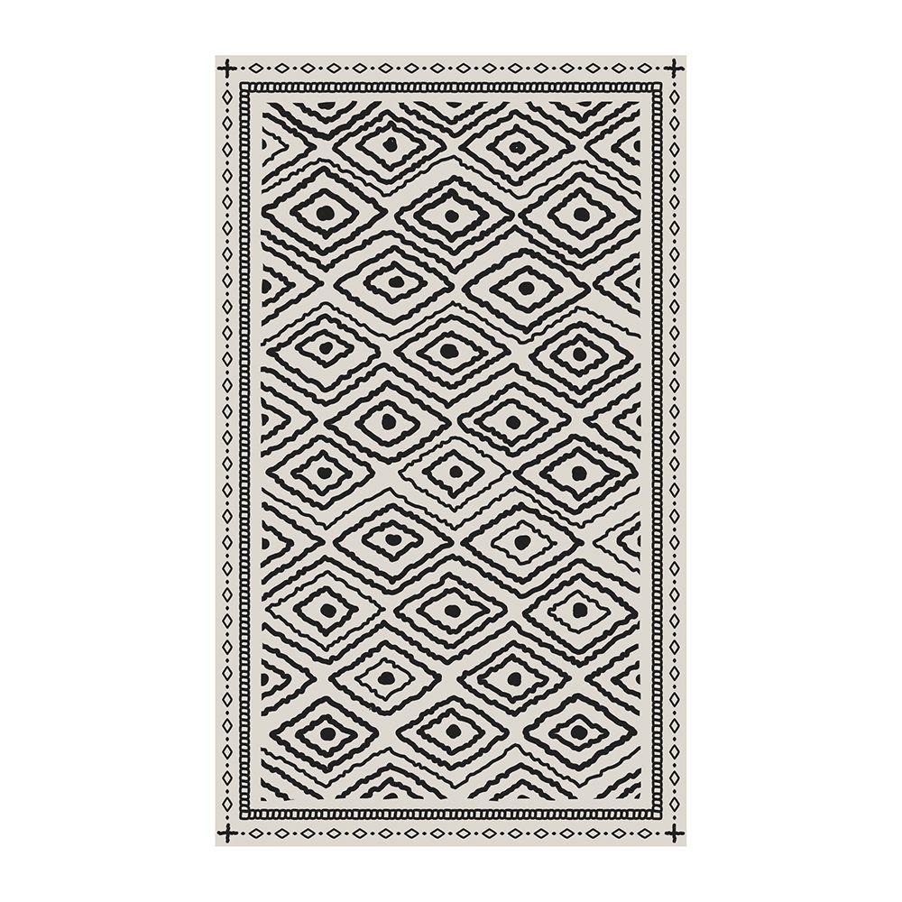 Buy Beaumont Black Stone Diamond Dot Vinyl Floor Mat In 2020 Vinyl Floor Mat Vinyl Flooring Floor Mats