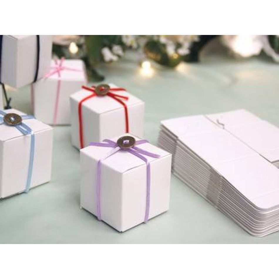 Favor Bo 2x2x2 White Bulk 100 Pieces Ef Whole Wedding Supplies Favors Party And