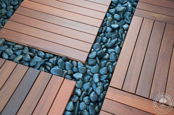 Ipe Deck Tiles On Rooftop Balcony St Petersburg Fl Backyard
